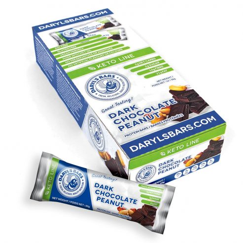 Dark Chocolate Peanut Keto Nutrition Bar